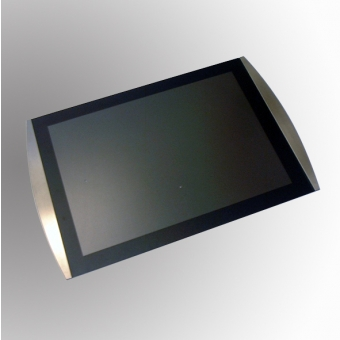 Wall Mounted Displays - Satellite Wall Mounted Poster/Menu Display Holder - Black