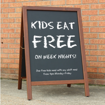 Special Offers - Chalkstar A-Board