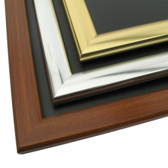 Snapframe Chalk/ Poster Board - Wood Finish Frame