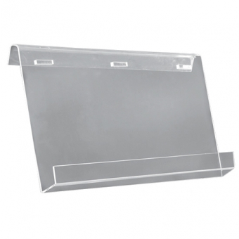 Mobile Boards - Acrylic Brochure Shelves for Info Board