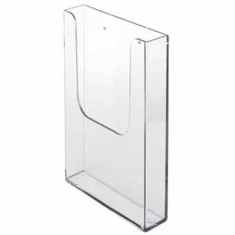 Leaflet Dispensers - Internal Leaflet Dispensers - Wallmounting Single Compartment