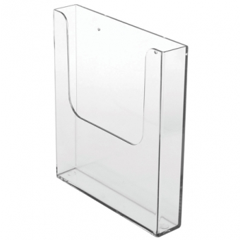 Internal Leaflet Dispensers - Wallmounting Single Compartment