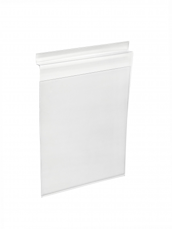 Acrylic Ticket Holders - Acrylic Slat Wall Poster/Ticket Display Holder - Portrait (Single Sided)