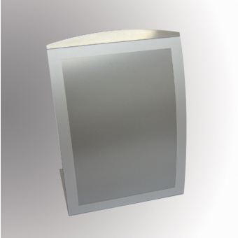 Special Offers - Satellite Table Top Poster/Display Holder - Portrait - Silver/Grey