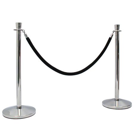 Pole and Rope Barrier 'Pole'